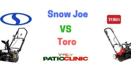 Snow Joe vs. Toro