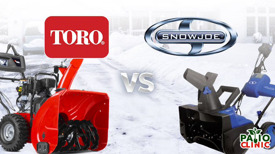 Snow Joe vs. Toro – Things You Need to Know