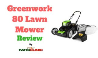 Review of Greenwork 80 Lawn Mower